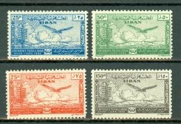 Liban 1946  SG 330/333** Conference Postale Arabe Sofar  MNH - Liban