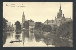 CPA - BRUGES - BRUGGE - Le Lac D'Amour - Het Minnewater - Nels  // - Brugge
