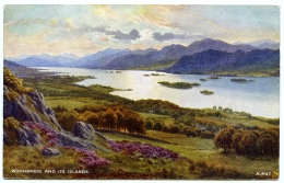 LAKE DISTRICT : WINDERMERE AND ITS ISLANDS - Cumberland/ Westmorland