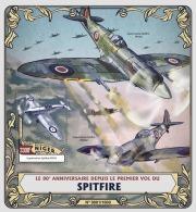NIGER 2016 - Spitfire S/S. Official Issue - Vliegtuigen