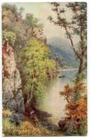 LAKE DISTRICT : STYBARROW CRAG, ULLSWATER (TUCKS) - Cumberland/ Westmorland
