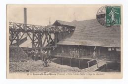 Lavaveix-les-Mines, Puits Sainte-Barbe (triage Du Charbon), 1908, éd. B. F. N° 20 - Autres Communes