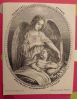 Publicité Pour Le Magasin De L'enfance Chrétienne. Nouveau Journal Des Enfants; 1851 - Publicités