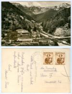AK Steiermark 8692 Neuberg An Der Mürz Krampen Karlgraben Schneealpe Österreich A.d. Mehrfachfrankatur MeF Styria AUT - Mürzzuschlag