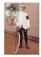 10997  CPM MAURICE GARIN   : 1er Vainqueur Du Tour De France  , éditée à L'occasion Du Tour 2003 - Cycling