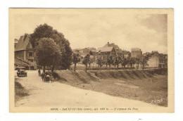 HAUTE-LOIRE  /  SAUGUES  /  L´ AVENUE  DU  PUY  ( Automobile Années 20 ) /  Edit.  Léon  MARGERIT  N° 10818 - Saugues