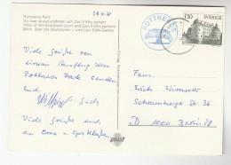 1978 SWEDEN Stamps COVER Postcard ROTTNEROS To Germany - Sweden