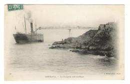 ALGERIE  /  GOURAYA  /  LE  CHARGEUR  AUTOMATIQUE  ( Cargo-paquebot ) /  Edit.  J. GEISER  N° 11  ( BM = Boite Mobile ) - Algeria