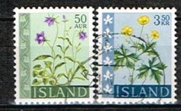ISLANDE /Oblitérés/Used/1962 - Fleurs - 1944-... Republik