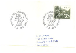 (430) Norway FDC Cover - 1979 - FDC