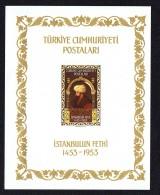 1953  500è Ann Conquête De Constantinople  Bloc -feuillet  *  MH - 1921-... République