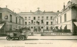 FONTAINEBLEAU(SEINE ET MARNE) HOTEL DE L AIGLE NOIR(AUTOMOBILE) - Fontainebleau