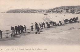 Cp , 76 , LE HAVRE , La Nouvelle Digue Et Le Cap De La Hève - Le Havre