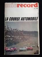 Micrecord Mai 1968 La Course Automobile - Auto/Moto