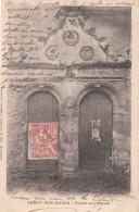 Cp , 77 , CROUY-sur-OURCQ , Portail De L'Église - Autres Communes