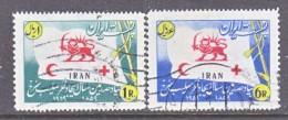 1 RAN   1132 A-B    (o)   FLAG     RED CROSS - Iran