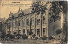 Wyneghem NA1: Normaalschool Der Zrs Annonciaden. Klassen 1924 - Wijnegem
