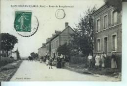 St OUEN Du TILLEUL Route De Bourgtheroulde - France