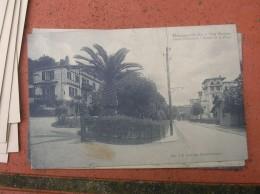 Cpa 9x14 NV DD Hendaye Villa Martinet Hotel Bidassoan Et Route De La Plage Bon Etat - Hendaye
