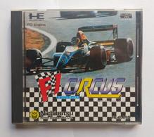 HE System PC Engine Hu Card Japanese : F1 Circus ( Nichibutsu ) - Electronic Games