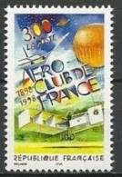 """FR YT 3172 """" Aero-Club De France """" 1998 Neuf** - France"""
