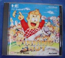 HE System PC Engine Hu Card Japanese : Winning Shot - Electronic Games
