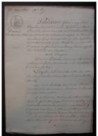 1831 Vienne, Vente à Marie Herbault Veuve Chene Par François Poissault - Manuscrits
