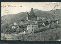 CPA - SAINT NECTAIRE - L'Eglise - Saint Nectaire