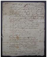 Etat Des Meubles Laissés Par Feu Pierre Lagard Et Jeanne Guitard. 4 Pages, Nombreuses Signatures, à Dater - Manuscripts