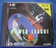 HE System PC Engine Hu Card Japanese : Power League III ( HudsonSoft ) - Electronic Games