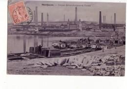 Montluçon - Usine Saint Jacques Et Canal, Chargement Des Péniches (thème Fluvial) / Edition Lageyre - Montlucon
