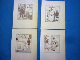BOXE Lot De 11 DESSINS De CH;GENTY  ( Voir 4 Photos Et Descriptif ) - Autres