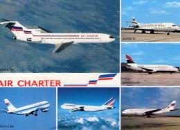 "Aviation.. Flotte ""Air Charter"" Avions Boeing B-727 Airbus A-300 Boeing B-747 Boeing B-737 Super 10 - 1946-....: Era Moderna"