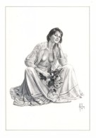Aslan - Carte Postale érotique - Sexy Nude Nº 4 Sophie, Limited Edition - Size: 15x10 Cm. Aprox. - Aslan