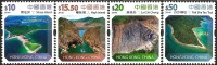 Hong Kong - 2014 - Natural Wonders - Mint High Values Definitive Stamp Set - 1997-... Région Administrative Chinoise