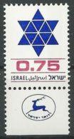 ISRAEL 1977 MI-NR. 721 ** MNH (156) - Nuovi (con Tab)