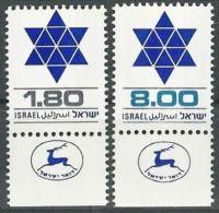 ISRAEL 1979 MI-NR. 797/98 ** MNH (156) - Nuovi (con Tab)