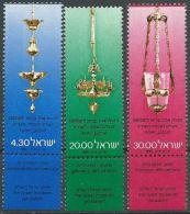 ISRAEL 1980 MI-NR. 822/24 ** MNH (156) - Unused Stamps (with Tabs)