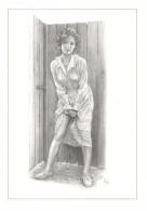 Aslan - Carte Postale érotique - Sexy Nude Nº 12 Benedicte, Limited Edition - Size: 15x10 Cm. Aprox. - Aslan