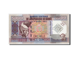 Guinea, 5000 Francs, 2010, KM:44, 2010-03-01, NEUF - Guinée