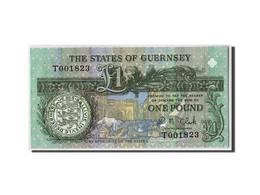 Guernsey, 1 Pound, Non Daté, KM:52c, NEUF - Guernesey