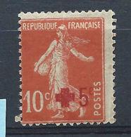 France N° 146* (MH) - France