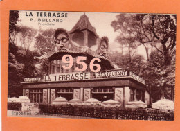 """CPA * * PARIS * * Exposition Coloniale 1931 - Restaurant """" LA TERRASSE """" - Mostre"""