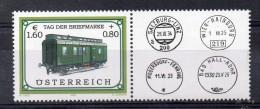 AUTRICHE   Timbres Neufs ** De 2002  ( Ref2984  )    Trains - 2001-10 Unused Stamps