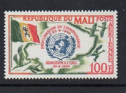 1961Mali  UN Flag  MNH Complete Set Of 1 - Mali (1959-...)