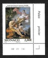 Monaco 2016 - Yv N° 3037 ** - LE NU DANS L'ART (Mi N° 3295) - Coin Daté - Neufs