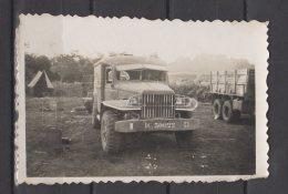 """Indochine - Operation """" Atlahte """"  En 1953- 54  - Route Pour Aller A Shoben - Ambulance Et Tente De Légionnaire . - Guerre, Militaire"""