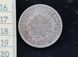 Monnaie De 5 Francs 1876 A - Francia