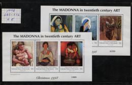 Micronesia, 1998,  M. 667 - 676, Christmas,  Madonna - Micronesia