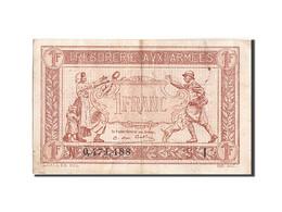 France, 1 Franc, 1917-1919 Army Treasury, 1917, 1917, KM:M2, TTB, Fayette:VF3.9 - Treasury